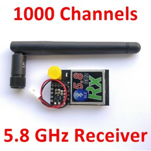 5.8 GHz  1000 channels AV Receiver
