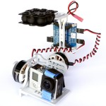 LaserBGC Brushless Gimbal for GoPro Cameras
